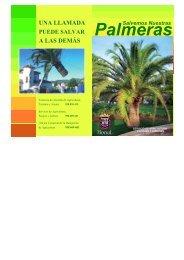 Campaña preservación palmeras