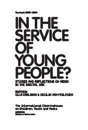 In the Service of Young People? Studies and Reflections on Media ...