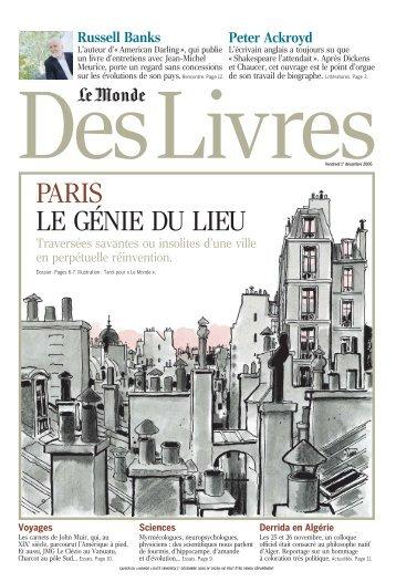 Monde des Livres - Le Monde