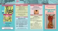 Programm 2012 - Kulturverein Berg