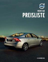 Volvo S60 Preisliste - MVC Motors
