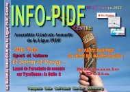 INfo PIDF 56 - Ligue Paris Ile de France de Vol Libre - FFVL