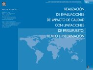 Influ Eval_Cover_SP.qxd - Independent Evaluation Group - World ...