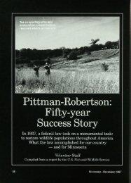 1187 Pittman-Robertson: Fifty-year Success Story - webapps8