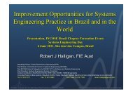 An Assessment of the Status of Systems Engineering in Brasil and in ...
