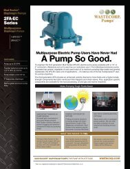 2FA-EC - Wastecorp Pumps