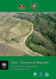 Haiti – Dominican Republic - Disasters and Conflicts - UNEP