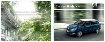The new ÅkodaFabia