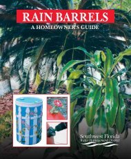 RAIN BARRELS - Sarasota County Extension