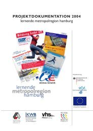 PROJEKTDOKUMENTATION 2004 lernende ... - EUROlocal