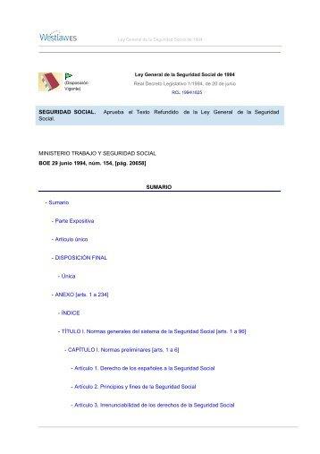 Tesorer a general de la seguridad social for Juzgado seguridad social