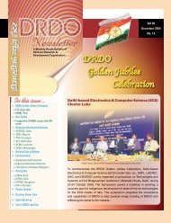 Issue 12, Dec 2008 - DRDO