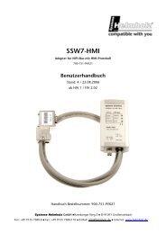 SSW7-HMI - TP Automation e.K.