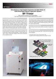 SAKI AOI System Model BF-Tristar PDF Brochure - HDI Solutions