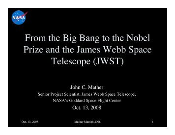 4.2 MB pdf - James Webb Space Telescope - NASA