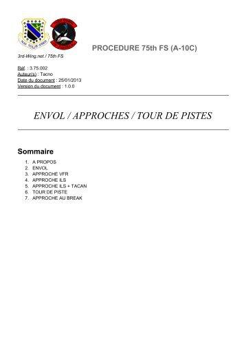 ENVOL / APPROCHES / TOUR DE PISTES - 3rd Wing