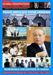 GLOBAL PERSPECTIVES   February 2011 - International Edition