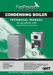CONDENSING BOILER - Columbia Heating