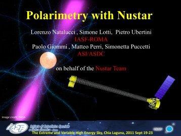 Polarization studies with Nustar - INAF-IASF-Roma