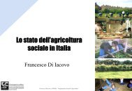 Lo stato dell'agricoltura sociale in Italia