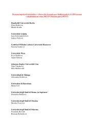 Zoznam úspešných účastníkov výberového konania pre študijné ...