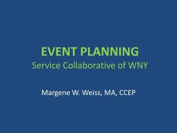 Event Planning Powerpoint