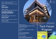 TechForum.indd 1 17/11/11 9:23 AM - Research