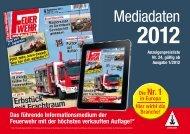 Mediadaten - Feuerwehr-Magazin
