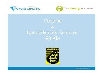 Voeding & Kennedymars Someren 80 KM - TopSupport