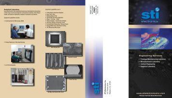 Engineering Services - STI Electronics, Inc.