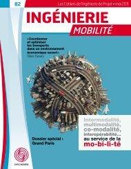numéro spécial « Mobilité » de mai 2011 - Syntec ingenierie