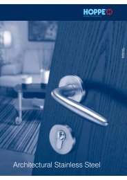 Architectural Stainless Steel - Architectural Hardware Direct