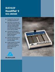 HandiMet® 2 Roll Grinder