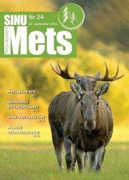Sinu Mets-sep_2011.pdf - SA Erametsakeskus
