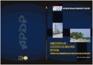 Demografía en los espacios menores de Piura Aportes a ... - UNFPA
