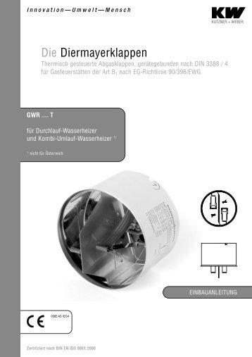 abgastechnische produkte einbauanleitung kutzner weber. Black Bedroom Furniture Sets. Home Design Ideas