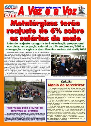 Sindimetal Canoas 214 - CNM/CUT