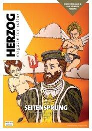 SEITENSPRUNG - HERZOG | magazin
