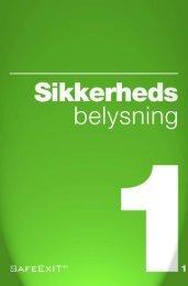 Sikkerhedsbelysning_katalog_2010 - Safeexit A/S