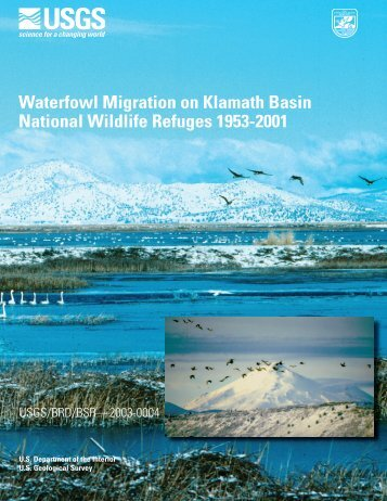 Waterfowl Migration on Klamath Basin National Wildlife Refuges ...