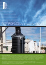 High Performance Fume Scrubbers