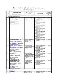Zoznam autorizovaných osôb na výkon úradného merania