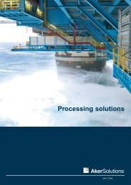 Process systems brochure - Aker Solutions