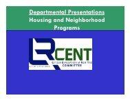 Housing and Neighborhood Programs ... - City of Little Rock