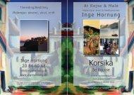Korsika katalog 2010 - Inge Hornung