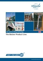 The Böcker Product Line - Fusion Group