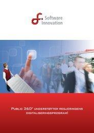 Public 360° understøtter regjeringens digitaliseringsprogram!