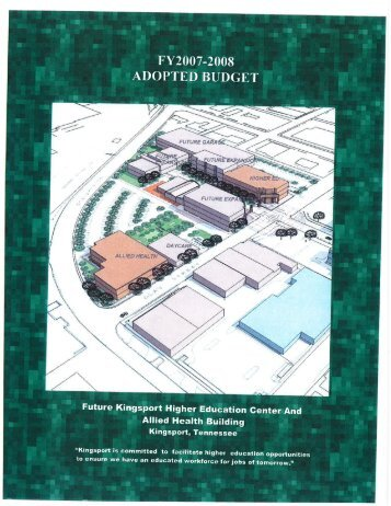 ADOPTED BUDGET - The City of Kingsport