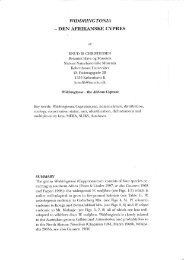 VVIDDRINGTONIA — DEN AF RIKANSKE CYPRES