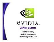Vertex Buffers - Nvidia